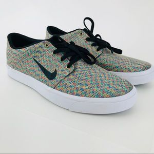 Nike SB Portmore Multicolored Sneakers Mens Size 9